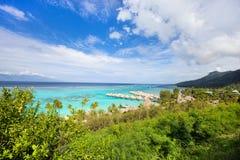 Moorea island landscape Royalty Free Stock Image