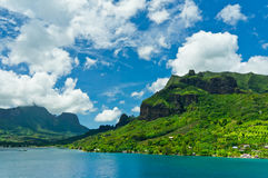 Moorea Islands, Cook's Bay, French Polynesia Stock Image