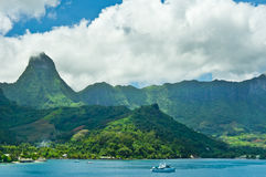Moorea Islands, Cook's Bay, French Polynesia Royalty Free Stock Photography
