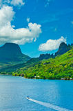 Moorea Islands, Cook's Bay, French Polynesia Stock Photos