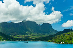 Moorea Islands, Cook's Bay, French Polynesia Royalty Free Stock Image