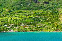 Moorea Islands, Cook's Bay, French Polynesia Stock Photography