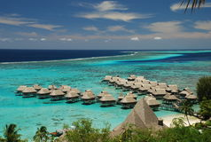 Moorea Lagoon. French Polynesia Stock Photography