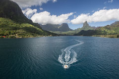 Moorea lagun Fotografering för Bildbyråer