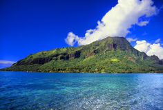 Moorea wyspa Francuski Polynesia Fotografia Royalty Free