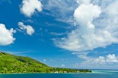 Moorea wyspy, Cook zatoka, Francuski Polynesia Obraz Royalty Free