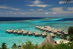 Moorealagune. Franse Polynesia Stock Fotografie