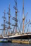 Moored Barque 2 Royalty Free Stock Photography