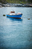Moored boat Royalty Free Stock Photo