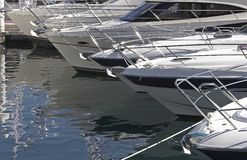 Moored Boats Royalty Free Stock Images