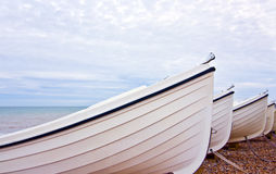 Moored boats Royalty Free Stock Photos