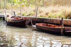 Moored boats Stock Photo