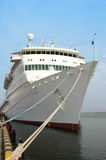 Moored Cruise Ship Stock Images
