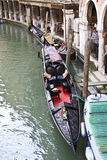 Moored Gondola Royalty Free Stock Images