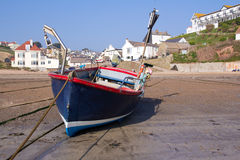 Moored at Hope Cove Stock Photography