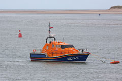 Moored lifeboat Stock Photos