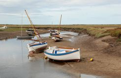Moored in Norfolk - 2 Stock Photography