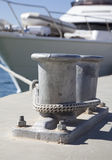 Moored Yacht Royalty Free Stock Photo