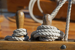 Mooring Royalty Free Stock Photo