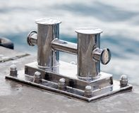 Mooring bitt Royalty Free Stock Photography