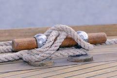 Mooring boat Royalty Free Stock Image