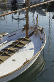 Mooring boat Royalty Free Stock Images