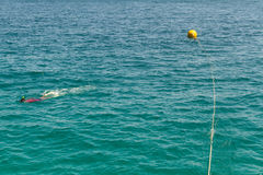 Mooring Buoy. Royalty Free Stock Images