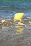 Mooring buoy floating on the sea Royalty Free Stock Image