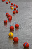 Mooring Buoys Royalty Free Stock Images