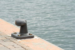 Mooring cleat Stock Photography