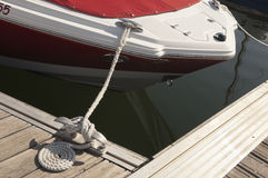 Mooring Stock Photo