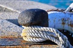 Mooring in the harbor of Portovenere Stock Photography