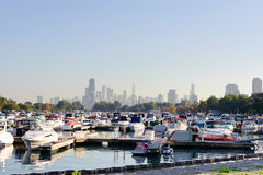 Mooring In Chicago Royalty Free Stock Photography