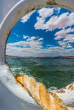 Mooring Line Lake Powell Ferry Stock Photography