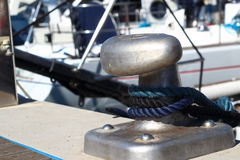 Mooring pedestal Stock Photos