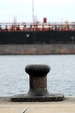 Mooring on a Pier Royalty Free Stock Photo