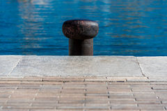 Mooring point Royalty Free Stock Photo