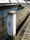 Mooring pole number two Royalty Free Stock Image