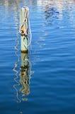 Mooring pole Royalty Free Stock Photo