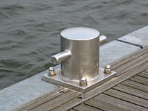Mooring post Stock Image