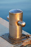 Mooring post Royalty Free Stock Images