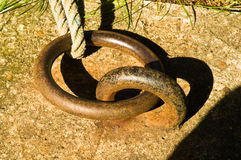 Mooring Ring Royalty Free Stock Photo