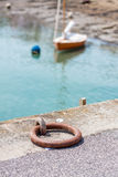 Mooring ring Royalty Free Stock Photography