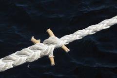 Mooring rope Stock Image