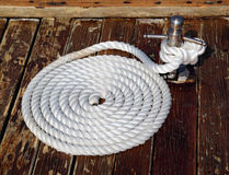 Mooring Rope Royalty Free Stock Photography