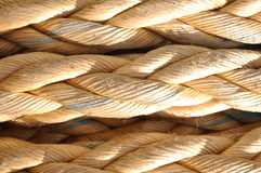 Mooring rope Stock Photography