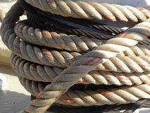 Mooring Rope, Marine, Bollard Stock Images