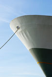 Mooring a ship with a rope. Mooring a vessel or ship with a rope Royalty Free Stock Photography