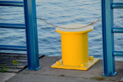 Mooring for ships Royalty Free Stock Photography