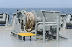 Mooring winch stock photos